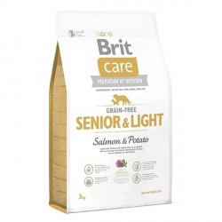 Brit Care GF Senior & Light Salmon & Potato (д/пожилых всех пород)