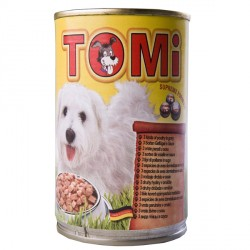 TOMi 3 kinds of poultry 3 ВИДА ПТИЦЫ консервы для собак, влажный корм